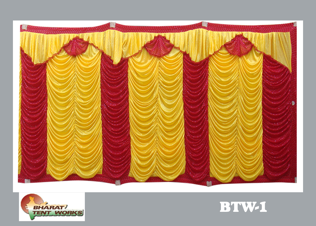 side curtain - 8 ft height design & Bharat Tent Works - side curtain - 8 ft height design