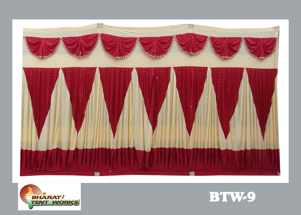 8 ft height ... & Bharat Tent Works - side curtain - 8 ft height design