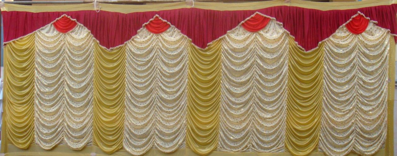 Bharat Tent Works Side Curtain 8 Ft Height Design