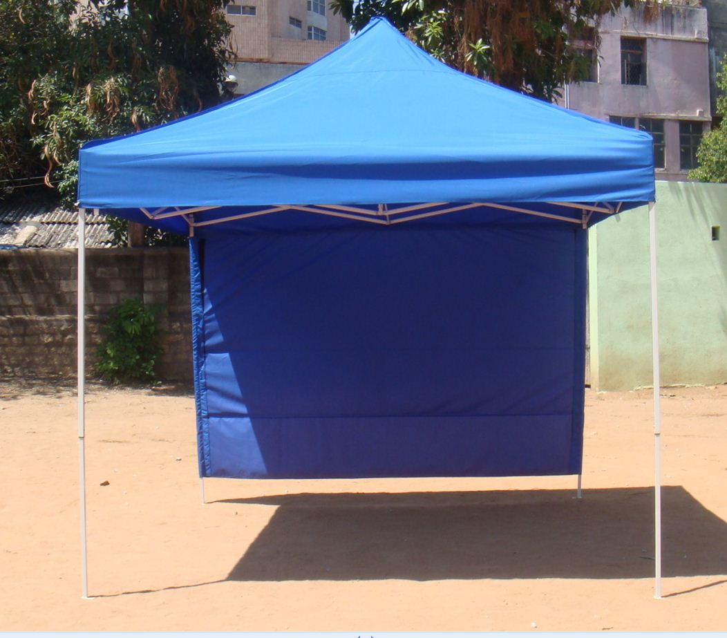 ... folding tent 10 x 10 ft with back side cloth ... & Bharat Tent Works - folding tent images 10 f x 10 ft  10 f x 20 ft.